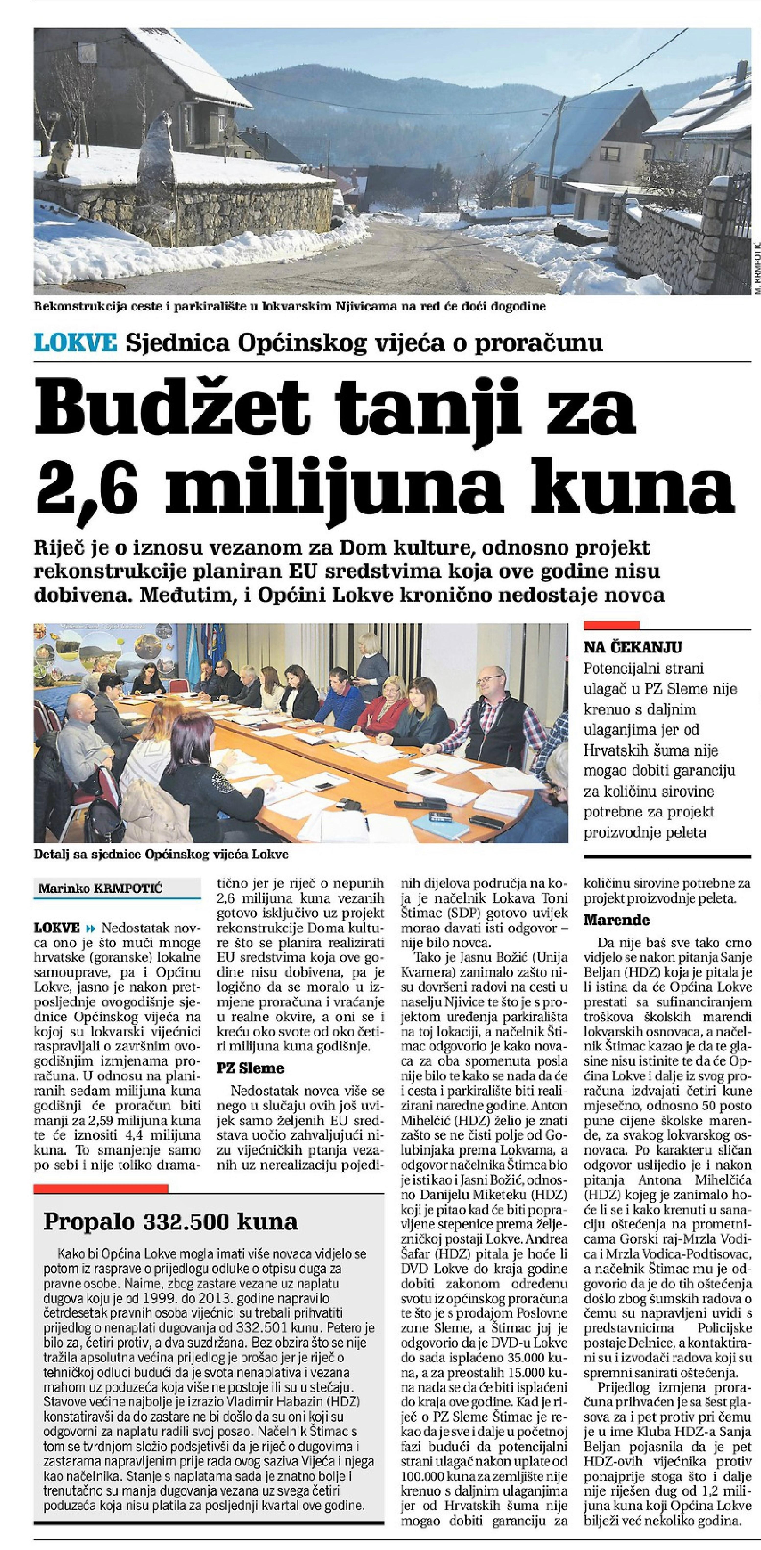 Novi list 6.12.2017